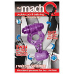 The Macho Double Cock And Balls Ring